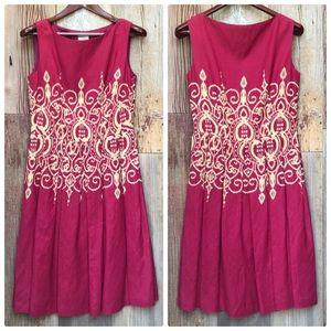 Suzi Chin Sleeveless Dress 8